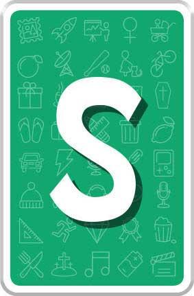 Carte lettre S