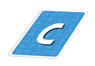 Carte Lettre C
