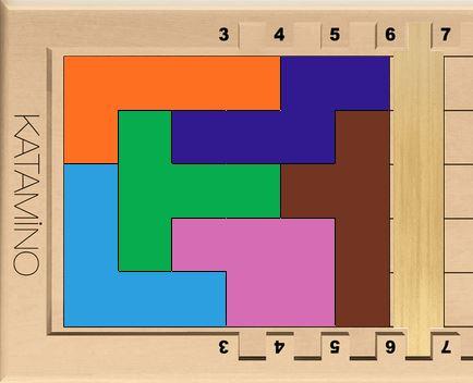 Solution possible pour réaliser un PENTA 6 en choisissant soi-même aléatoirement ses pièces.