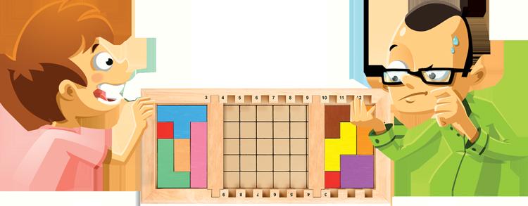 Penta 3, duel Katamino Family