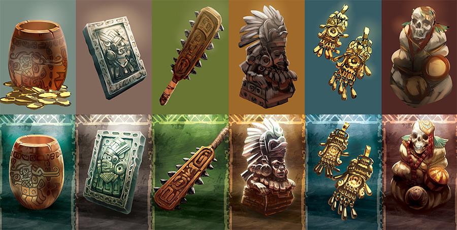 Quetzal - Objets