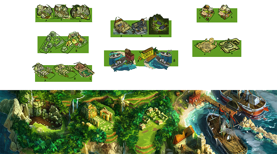 Quetzal - The locations