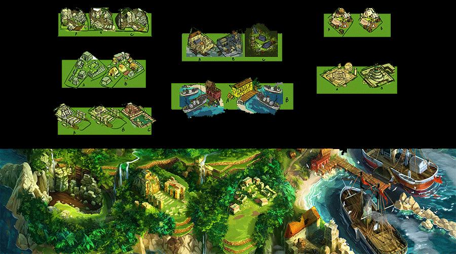 Quetzal - Les lieux
