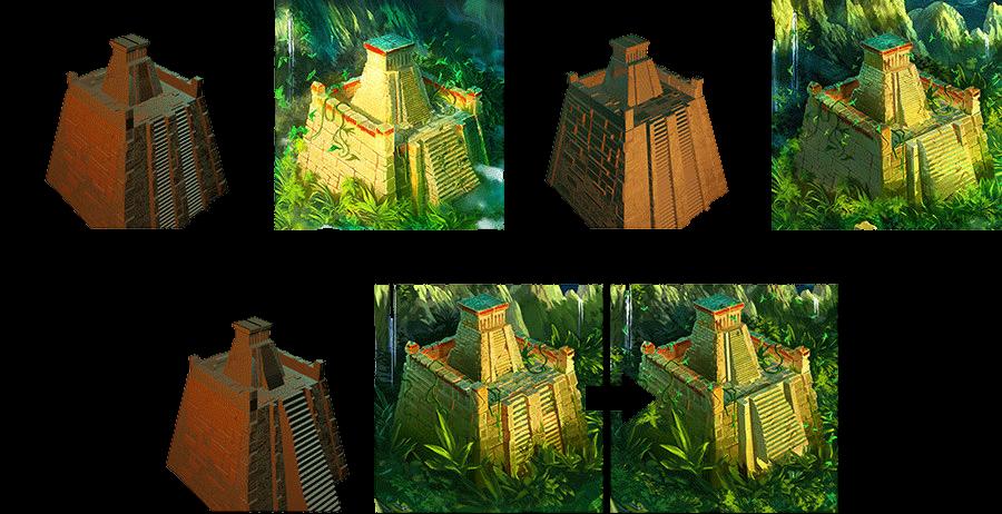 Quetzal - Le plateau