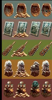 Variantes en progression - Quetzal